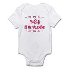 Yoshi is my valentine Infant Bodysuit