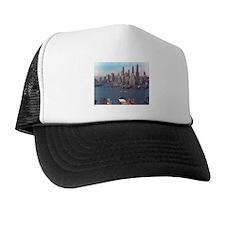 New York City Skyline 1948 Trucker Hat