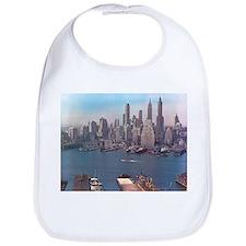 New York City Skyline 1948 Bib