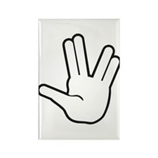 Live Long & Prosper - 1 Rectangle Magnet