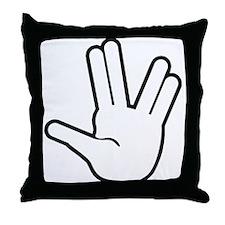 Live Long & Prosper - 1 Throw Pillow