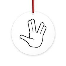 Live Long & Prosper - 1 Ornament (Round)