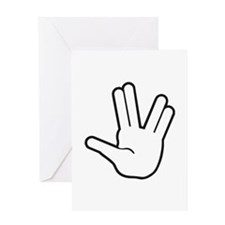 Live Long & Prosper - 1 Greeting Card