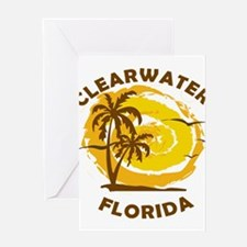 Summer clearwater- florida Greeting Cards