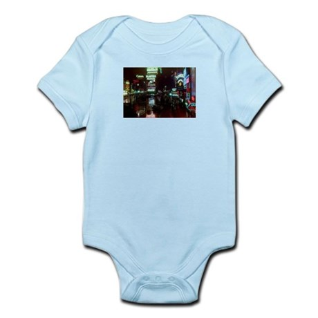 Times Square New York 1939 Infant Bodysuit