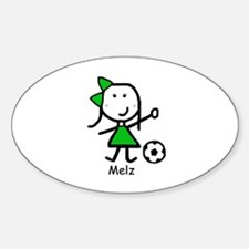 Soccer - Melz Oval Decal