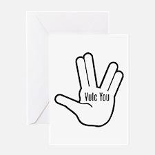 Vulc You Greeting Card