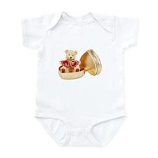 Heart of Gold Bear Infant Bodysuit