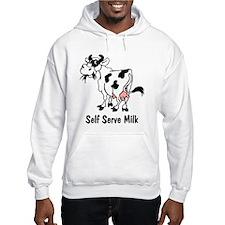 Self Serve Milk Hoodie