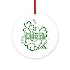 Olivia Ornament (Round)