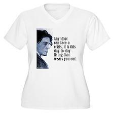 """Chekhov """"Any Idiot"""" T-Shirt"""