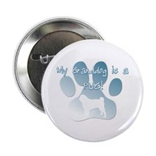 "Pug Granddog 2.25"" Button"