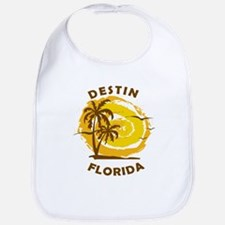 Summer destin- florida Baby Bib