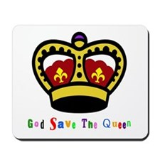 GOD SAVE THE QUEEN! Mousepad