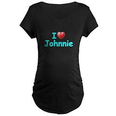 I Love Johnnie (Lt Blue) T-Shirt
