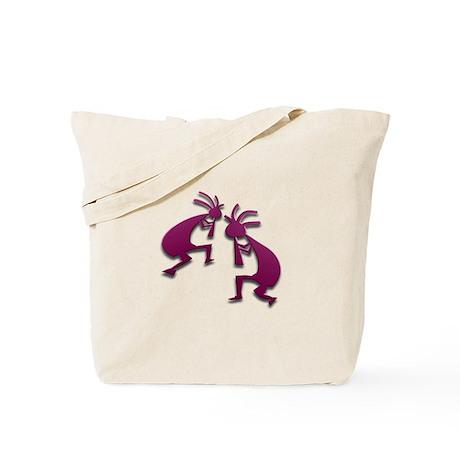 Two Kokopelli #85 Tote Bag