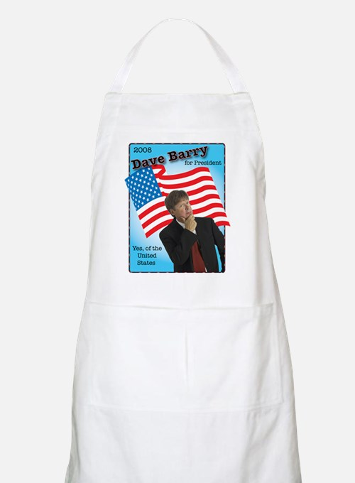 Dave Barry For President  BBQ Apron