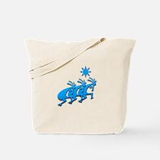 Three Kokopelli #76 Tote Bag