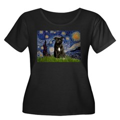 Starry-Am.Staffordshire (blk) T