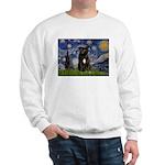 Starry-Am.Staffordshire (blk) Sweatshirt