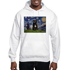 Starry-Am.Staffordshire (blk) Hoodie