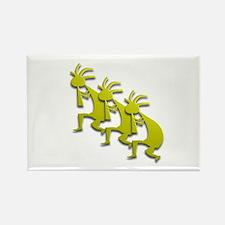 Three Kokopelli #78 Rectangle Magnet (10 pack)
