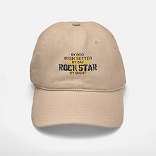 Irish Setter RockStar Baseball Baseball Cap