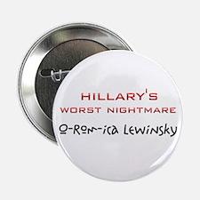 "Hillary Nightmare 2.25"" Button"