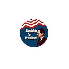 Kucinich for President Mini Button