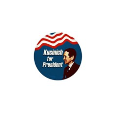 100 Dennis Kucinich Mini Buttons