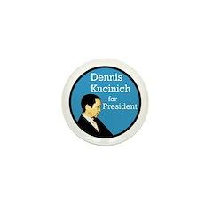 Dennis Kucinich Activist Pack of Pins