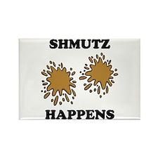 Shmutz Happens Rectangle Magnet