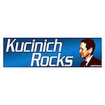 Kucinich Rocks bumper sticker