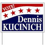 Vote Dennis Kucinich Lawn Sign
