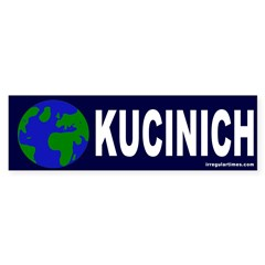 Earth Kucinich (bumper sticker)