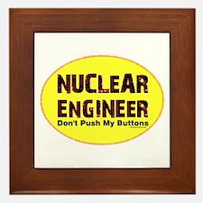 Nuclear Engineer Framed Tile