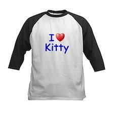 I Love Kitty (Blue) Tee