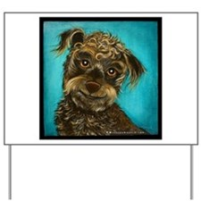 Schnoodle Yard Sign