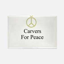 Carvers Rectangle Magnet