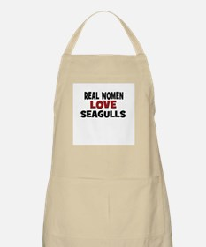 Real Women Love Seagulls BBQ Apron