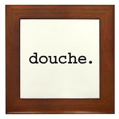 douche. Framed Tile