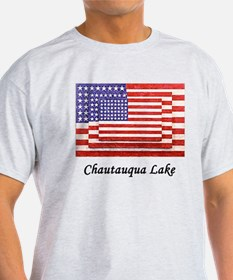 3 Flags Super Imposed T-Shirt
