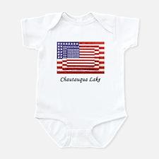 3 Flags Super Imposed Infant Bodysuit