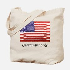 3 Flags Super Imposed Tote Bag