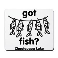 got fish? Mousepad