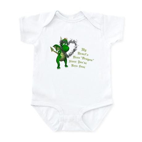 Broken Heart Dragon Infant Bodysuit