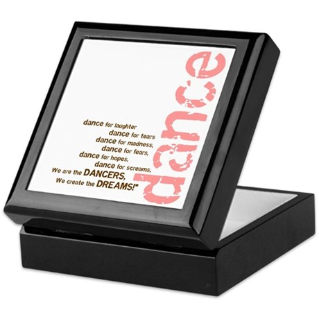 We Create the Dreams Keepsake Box