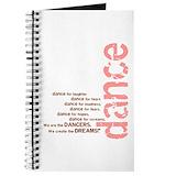 Jazz dance Journals & Spiral Notebooks