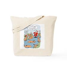 """""""Fleece Navidad"""" Tote Bag"""