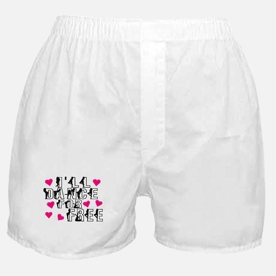Free Dance Boxer Shorts